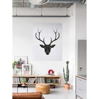 IXXI wanddecoratie Deer dark & light