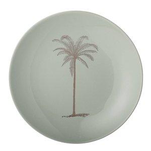 Bloomingville Palm bord groen, diam. 20 cm