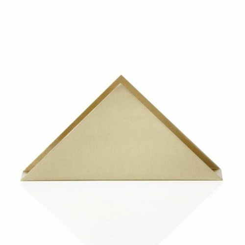 Ferm Living brass triangle servettenhouder