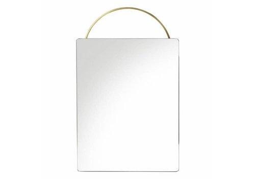 Ferm Living Adorn Brass mirror spiegel - face