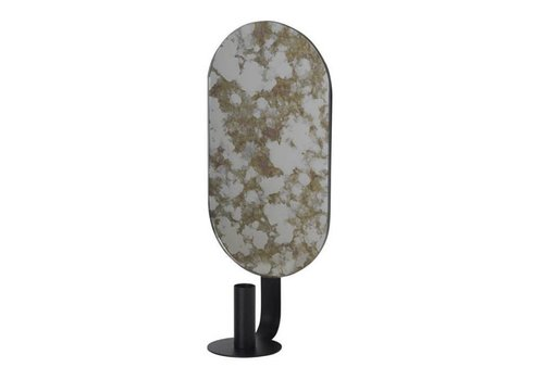 Ferm Living Coupled kaarshouder - Oval -Moss Green