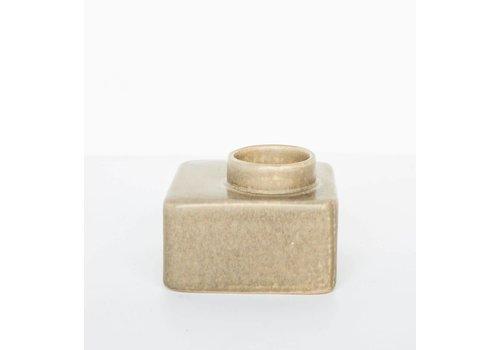 Urban Nature Culture Stone beige theelichthouder