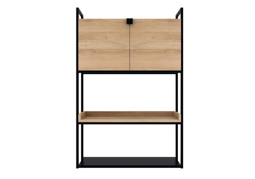 Ethnicraft Oak Cell unit kast h 140cm