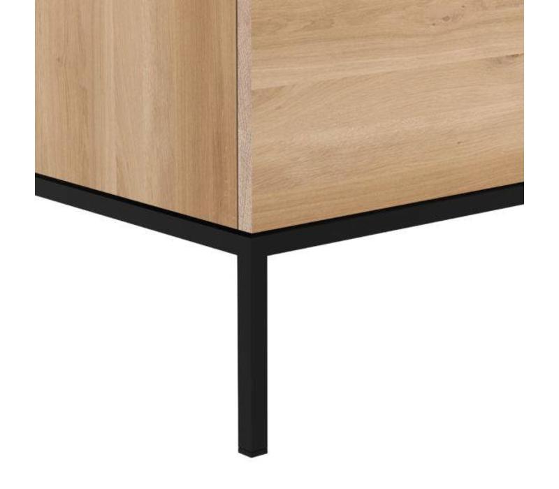 Favoriete Ligna Tv kast met zwart onderstel - vida design GM76