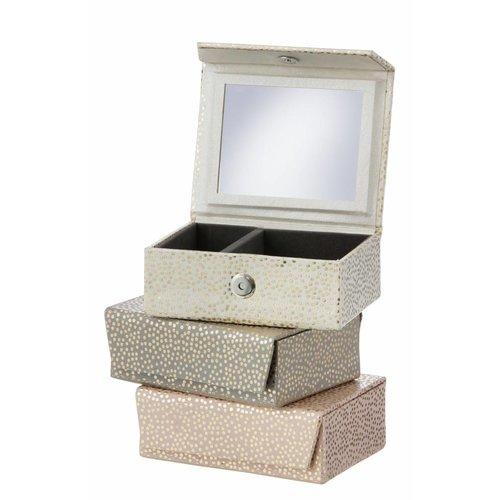Bungalow Reisjuwelenkoffertje Goud