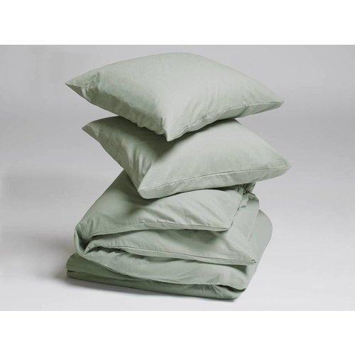 Yumeko Pale green dekbedovertrek velvet flanel