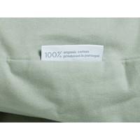 Pale green dekbedovertrek velvet flanel