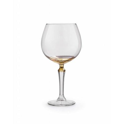 Libbey SPKSY gin&tonic glas imperf. gold - set van 2