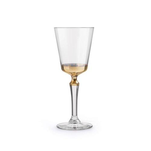 Libbey SPKSY wijnglas imperf. gold - set van 2