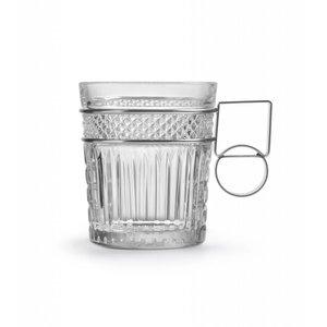 Libbey Radiant glas DOF metalen handvat - set van 2