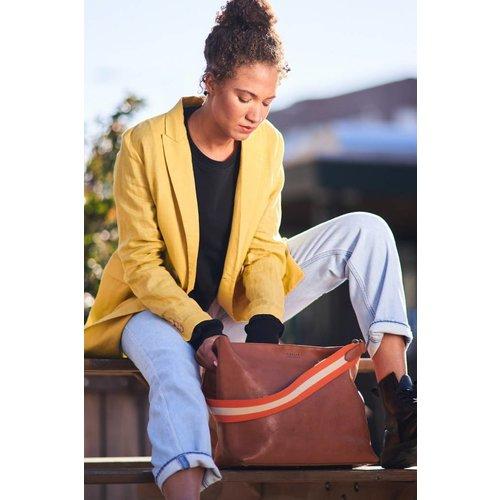 O My Bag Olivia handtas - stromboli leather cognac
