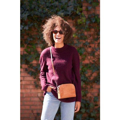 O My Bag Emily handtas - stromboli leather cognac
