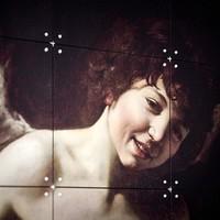 IXXI Wanddecoratie - Amor als Sieger  80 x 120 cm