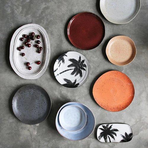 HK Living Bold & Basic eetbord grijs