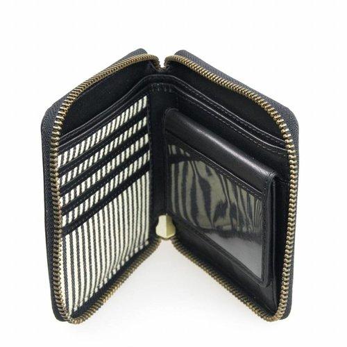 O My Bag Sonny vierkante portefeuille - stromboli black