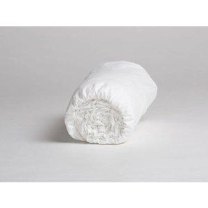 Yumeko Hoeslaken velvet flanel pure white