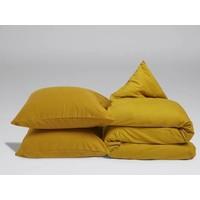 Dekbedovertrek indian yellow velvet flanel
