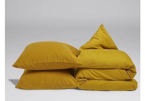 Yumeko Indian yellow dekbedovertrek velvet flanel