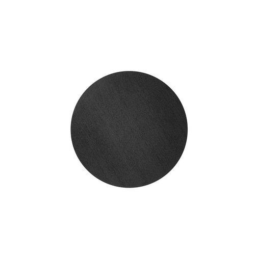 Ferm Living wire basket top deksel zwart gebeitste eik Diameter 40 cm