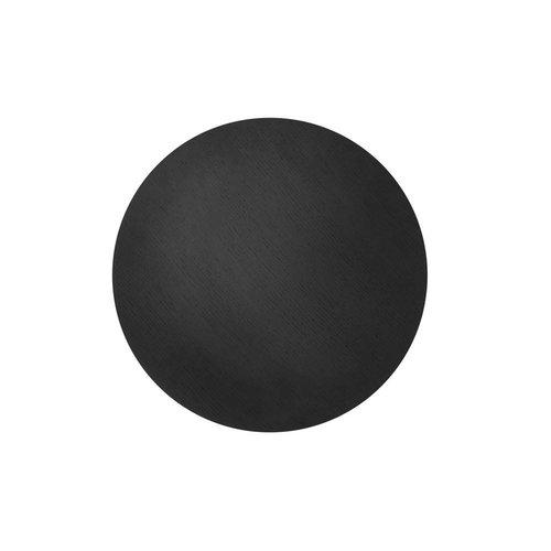 Ferm Living wire basket top deksel zwart gebeitste eik Diameter 50 cm