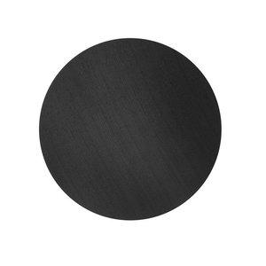 Ferm Living wire basket top deksel zwart gebeitste eik Diameter 60 cm