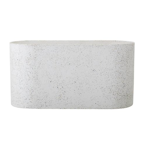 Bloomingville Bloempot natuur beton