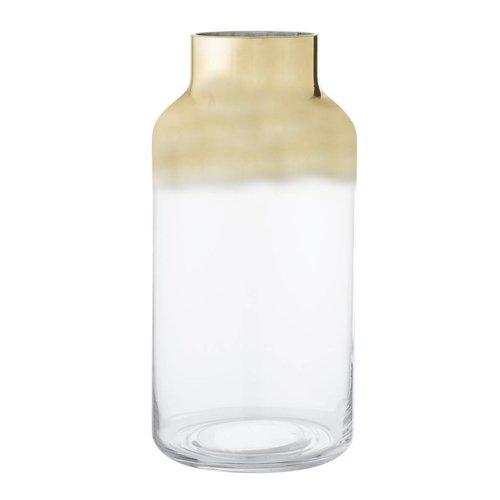 Bloomingville Glazen vaas, goud