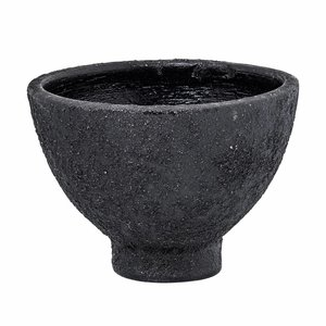 Bloomingville Kom, zwart, terracotta