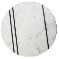 Dienblad witte marmer