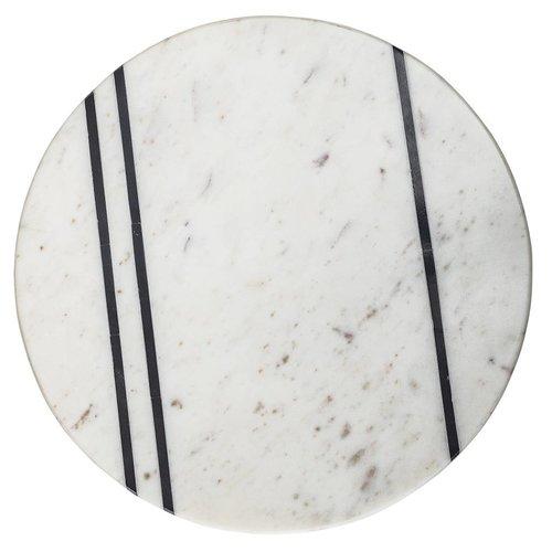 Bloomingville Dienblad witte marmer