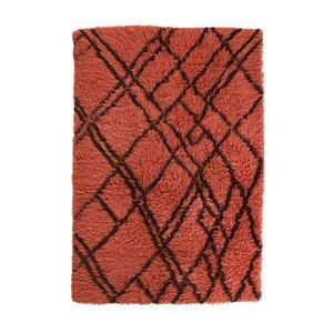 HK Living berber tapijt wol - funky rood