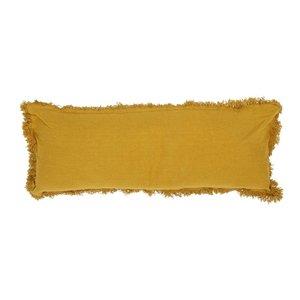 Bloomingville Kussen in katoen, geel