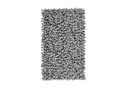 Aquanova Rocca badmat zilvergrijs 60x100 cm