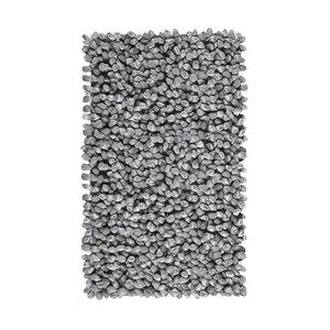 Aquanova Rocca badmat zilvergrijs 70x120 cm