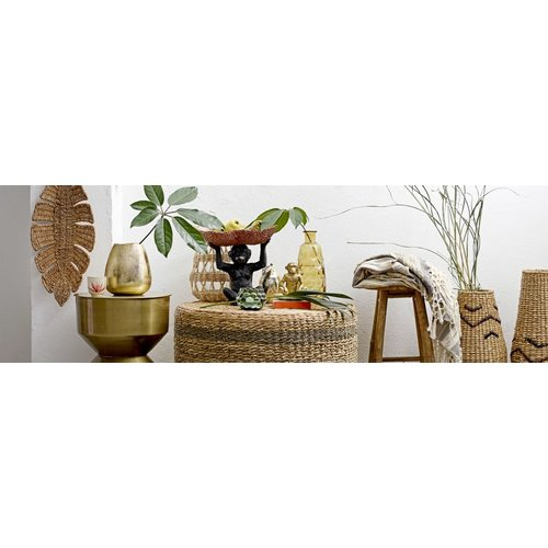 Bloomingville Sole krukje, bamboe