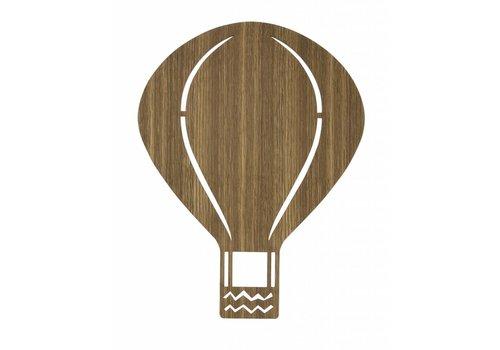Ferm Living Luchtballon wandlamp Gerookte eik