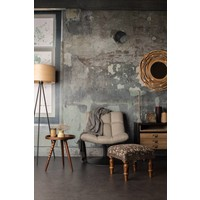 Bar loungestoel lichtgrijs