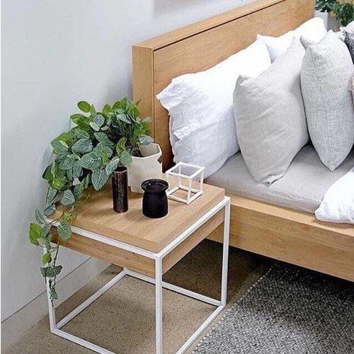 Ethnicraft Nordic II bed - eik matras 160 cm