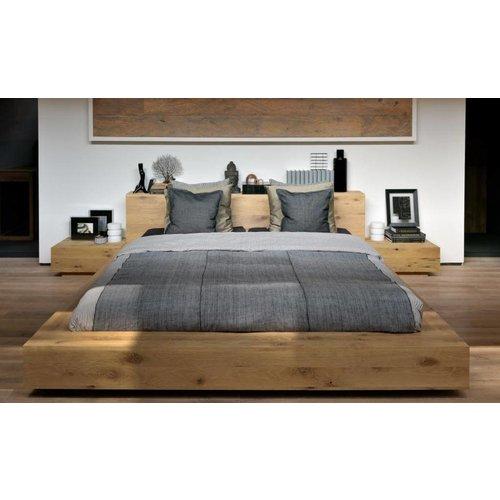 Ethnicraft Madra bed - eik matras 180 cm