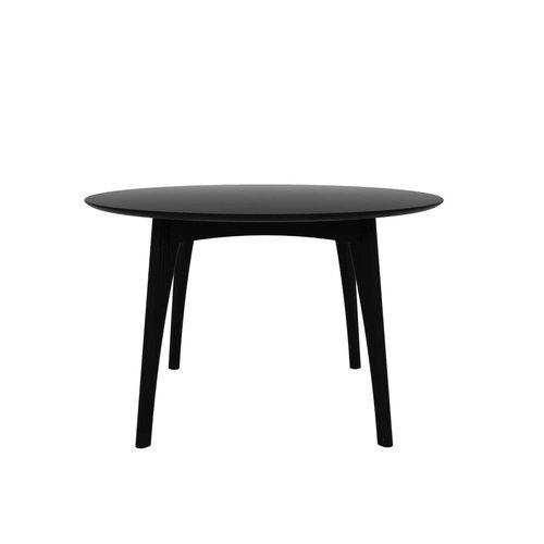 Ethnicraft Osso ronde eettafel diameter 120cm eik zwart