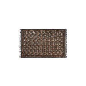 Dutchbone Indian Block tapijt grijs 120 x 180