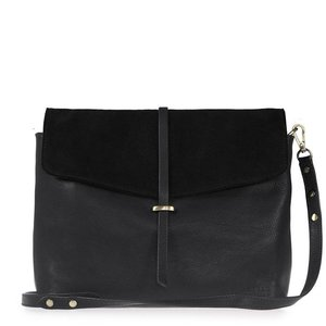 O My Bag Ella handtas - soft grain leather black