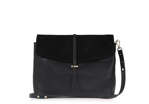O My Bag Ella handtas - soft grain leather black