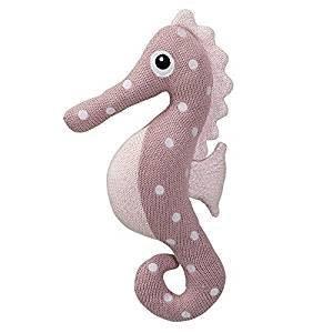Bloomingville Gebreid zeepaardje - roze