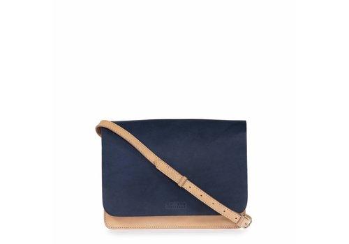 O My Bag Audrey Mini handtas classic - natural/navy