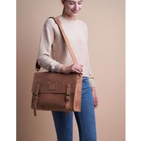 Dirty Harry rugzak - hunter leather camel