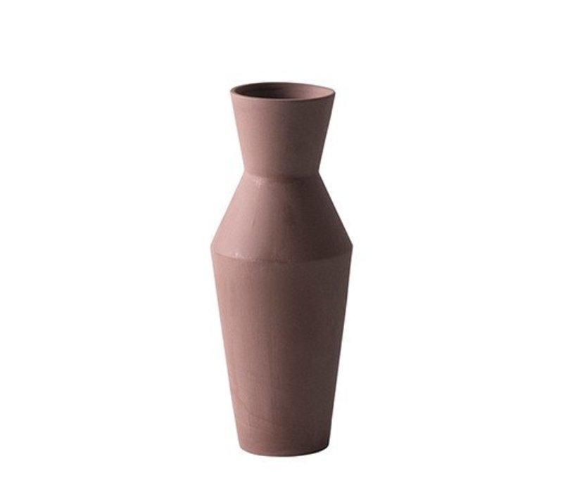 Sculpt vaas - Corset  Roest