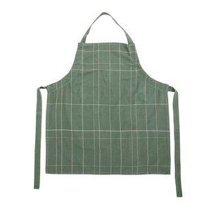 Bloomingville Keukenschort groen katoen