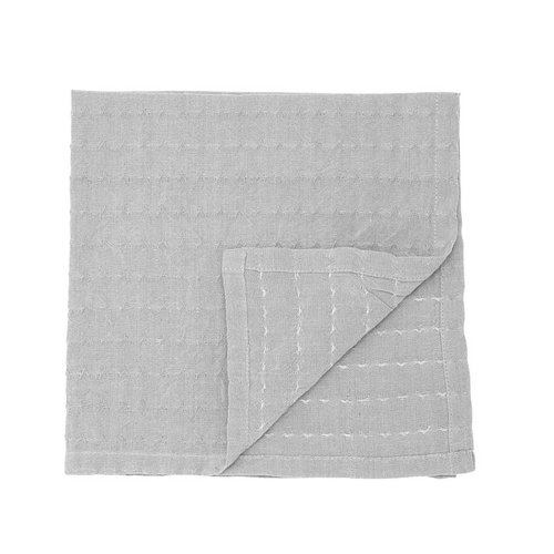 Bloomingville Servet grijs katoen set van 4