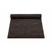 Lederen tapijt choco 170 x 240